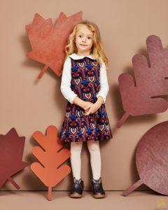 kolorowa sukienka dla dziewczynki